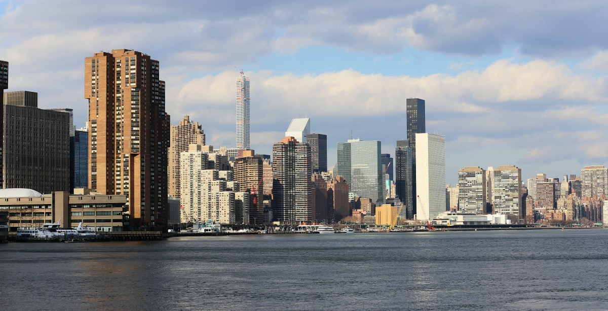 East River.