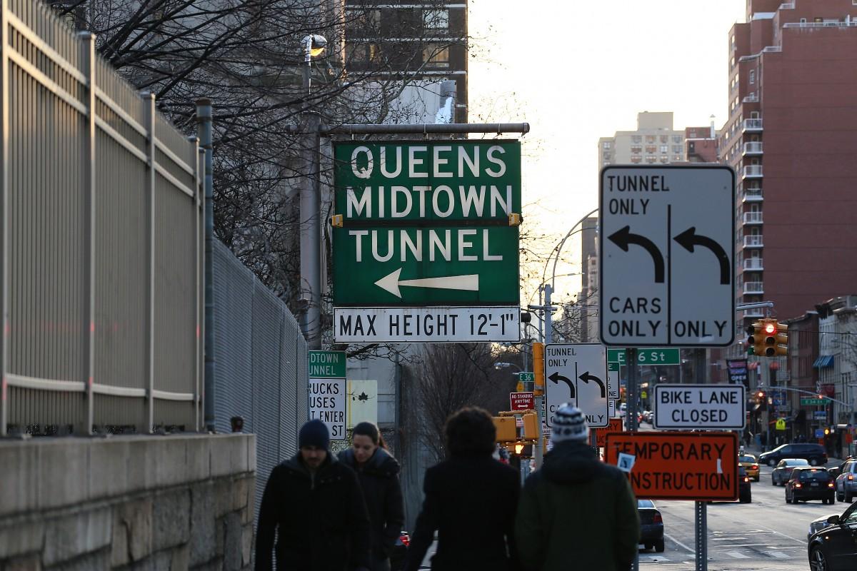 Queens Midtown Tunnel.