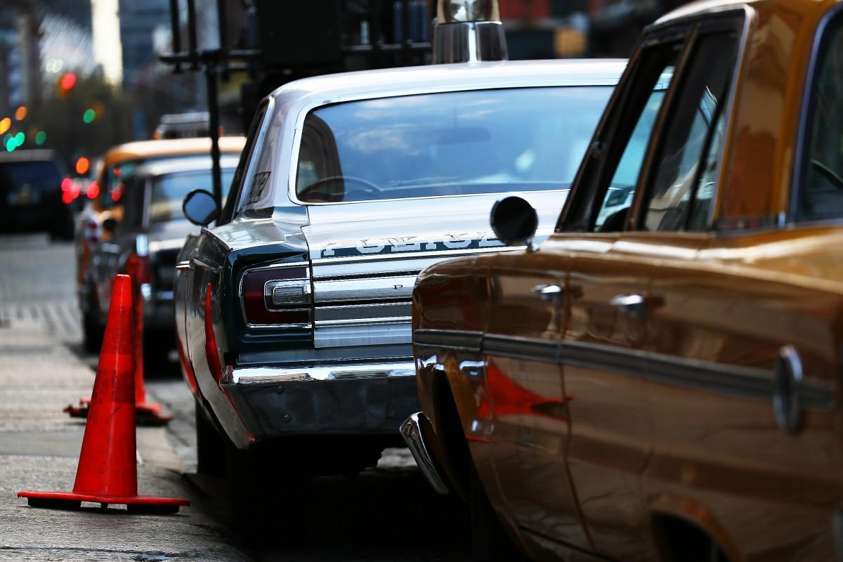 Gamla bilar.