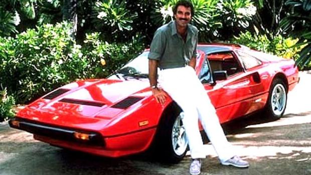 Tom Selleck i 80-talsklassikern Magnum PI.