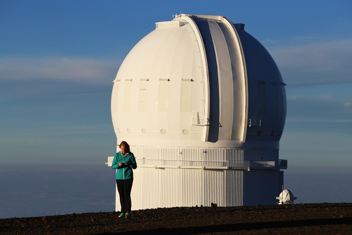 Ett observatorium.