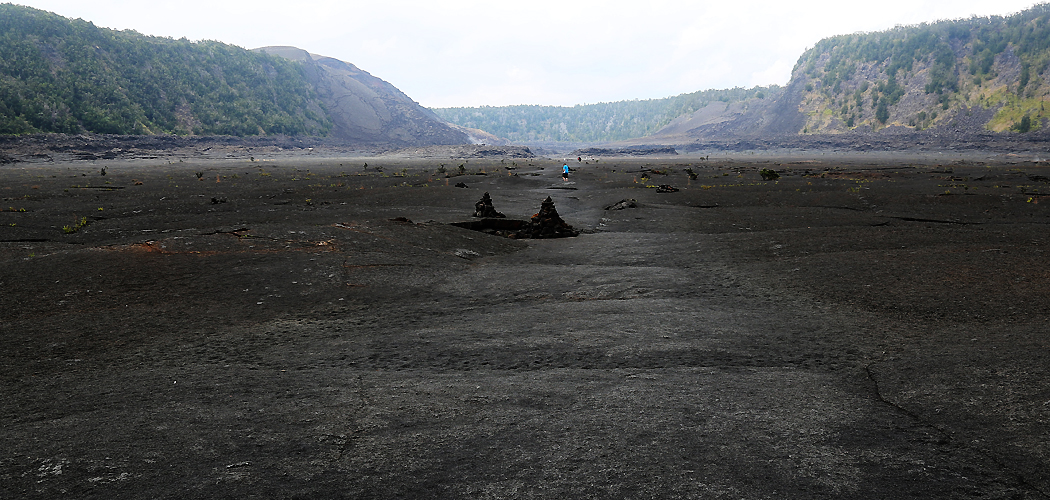 Kilauea Iki-kratern.