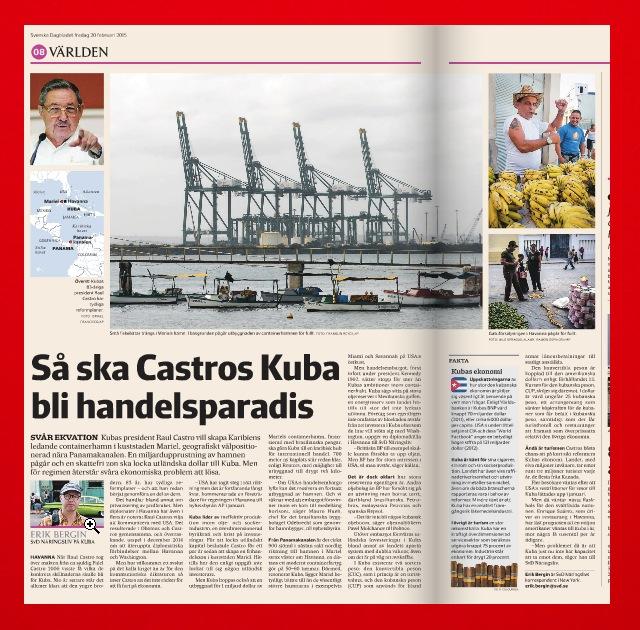 Artikeln i SvD Näringsliv den 20 februari.