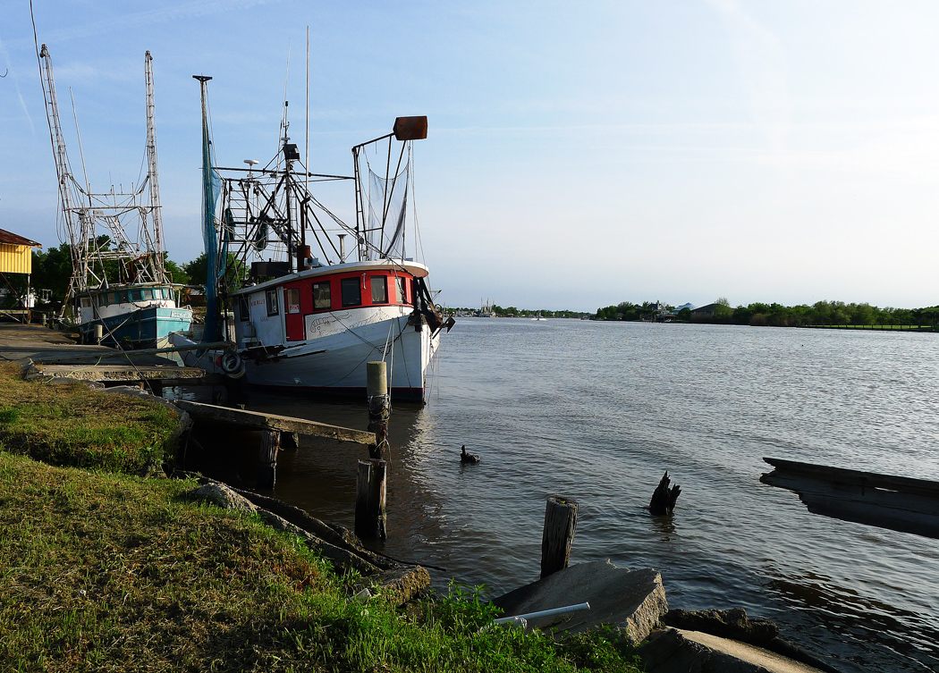 Fiskeläget Lafitte, Louisiana. Foto: Erik Bergin