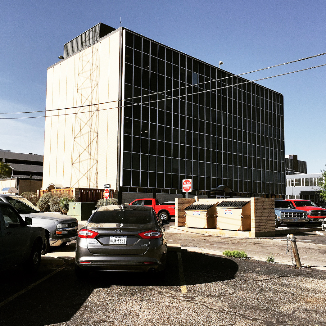 Kommunhuset, City Hall, i Midland, Texas.