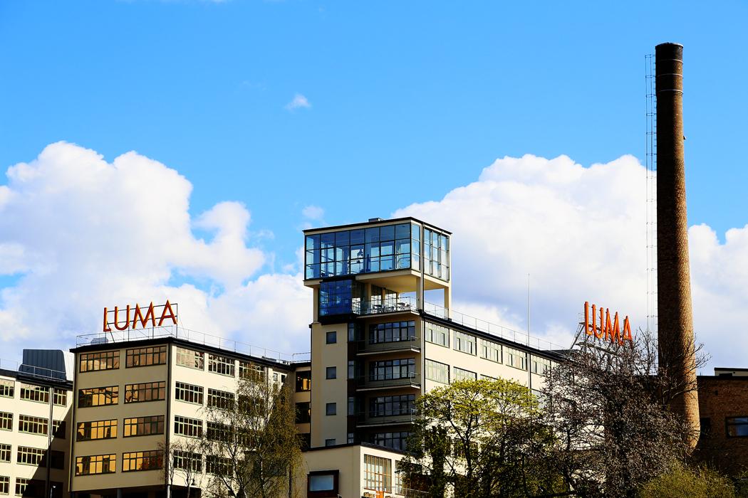Gamla Lumafabriken.