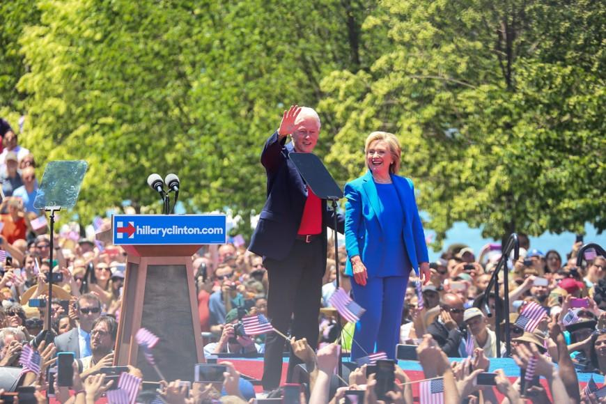 Hillary och Bill.