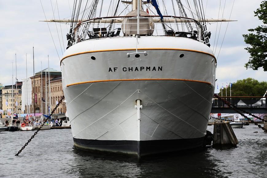 af Chapman sedd akterifrån.