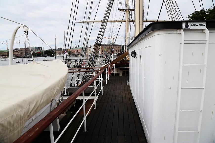 Ombord på af Chapman.