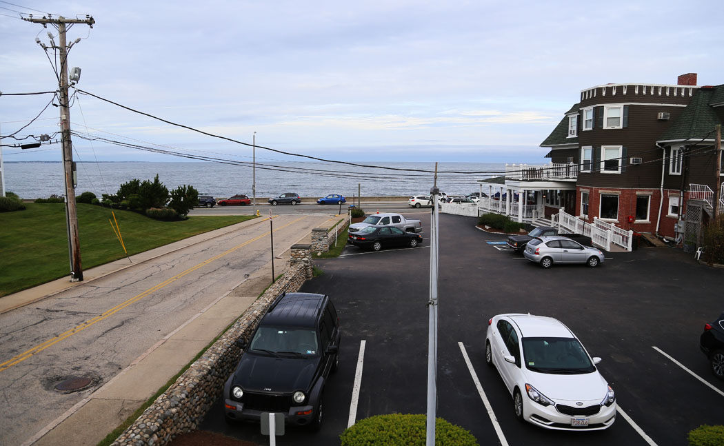 Min utsikt i Nassagarrett, Rhode Island.