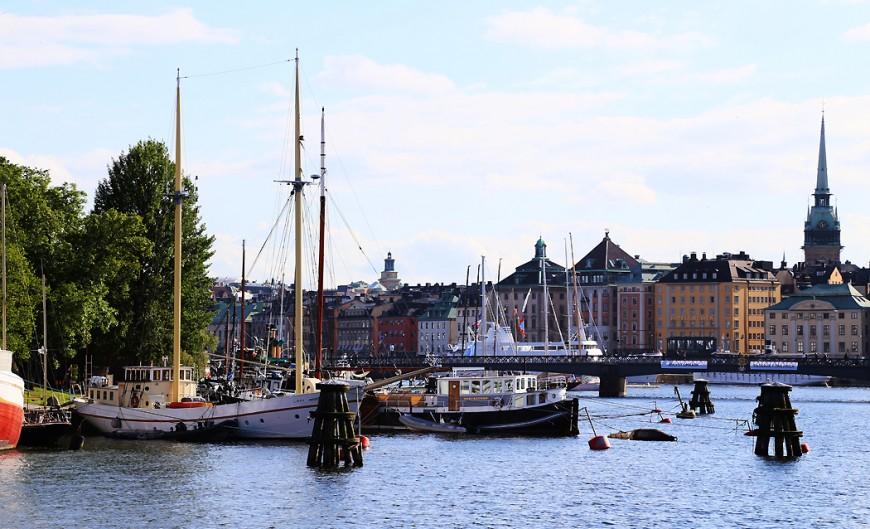 Skeppsholmens gamla skepp.