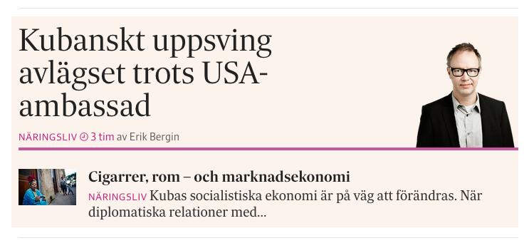 Analysen på SvD.se måndagen den 20 juli 2015.