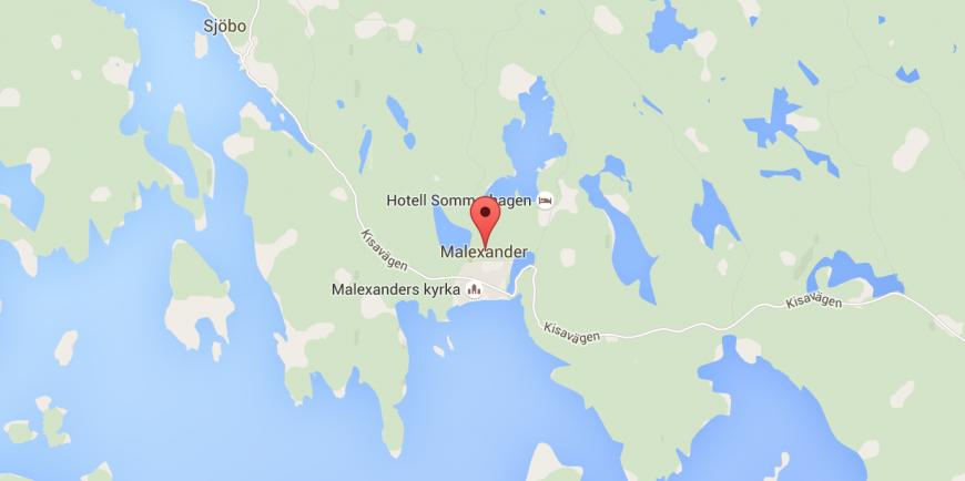 Malexander, Östergötland. Källa: Google Maps