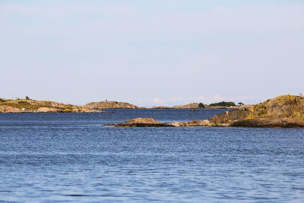 Björkskärs yttre skärgård.