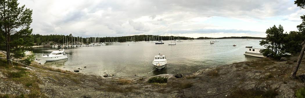 Panorama från Nåttarö.