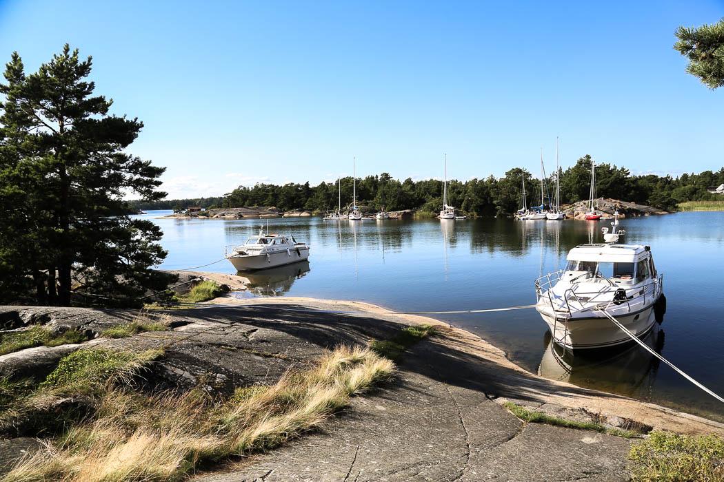 Clara-Ida vid Ostholmen onsdag 12 augusti 2015.