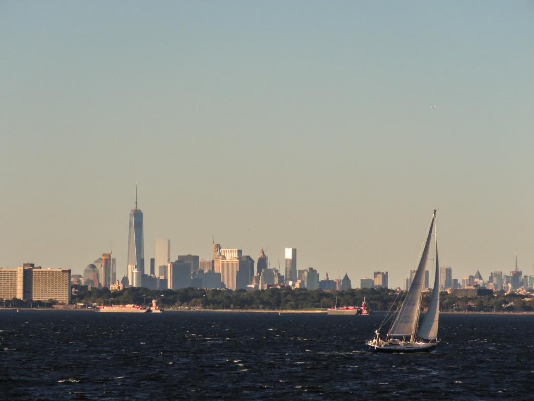Där, som en hägring i fjärran: Manhattan.