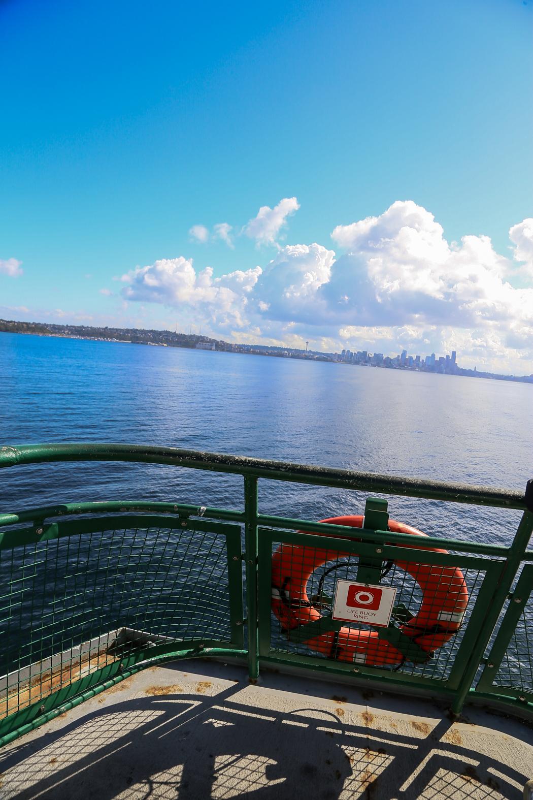 Seattle i fjärran.