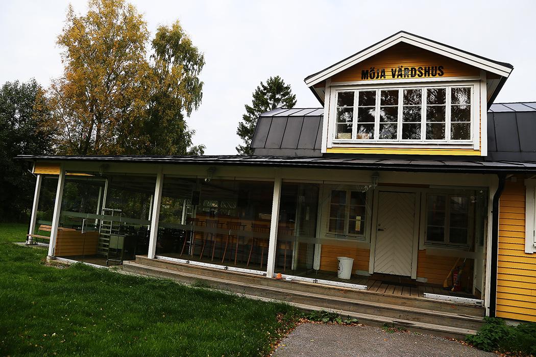 Kyrkviken, Möja.