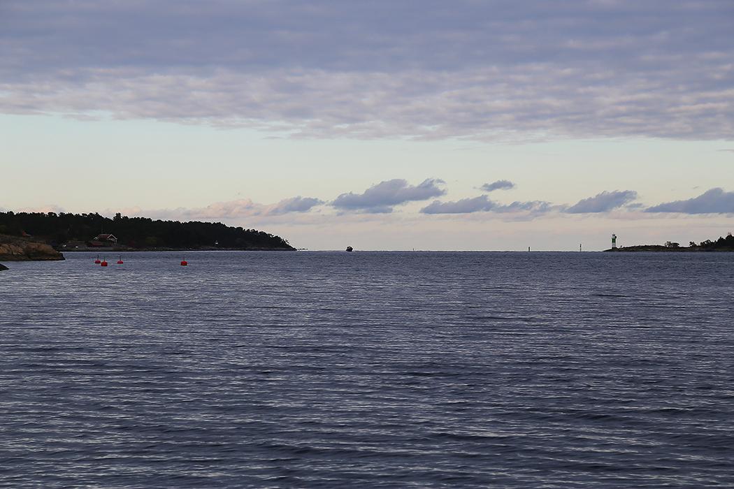 Kanholmsfjärden lördag 10 okt 2015.