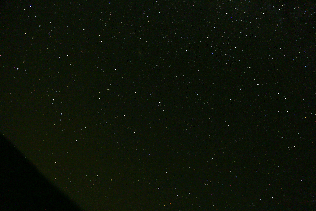Stjärnhimmelen över Ostholmen.
