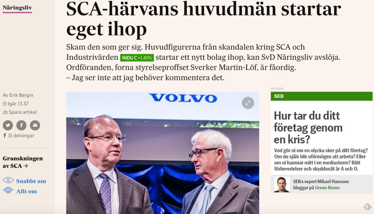 Artikeln på nliv.se.