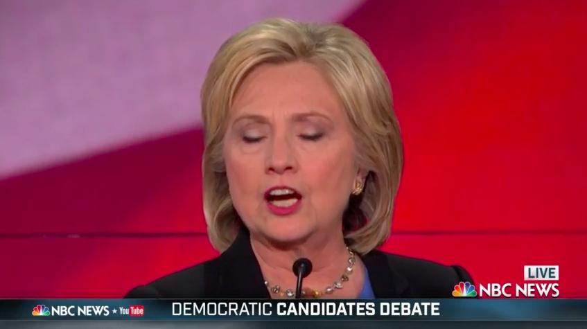 Demokraternas frontrunner Hillary Clinton, tidigare utrikesminister. Foto: NBC News