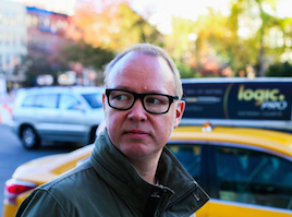 Erik Bergin, New York-korrespondent, SvD