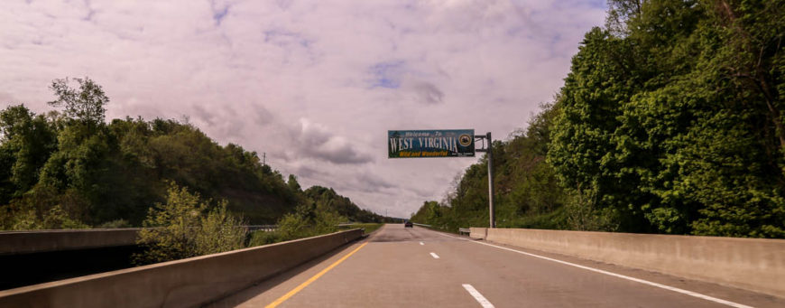 Welcome to West Virginia. Foto: Erik Bergin