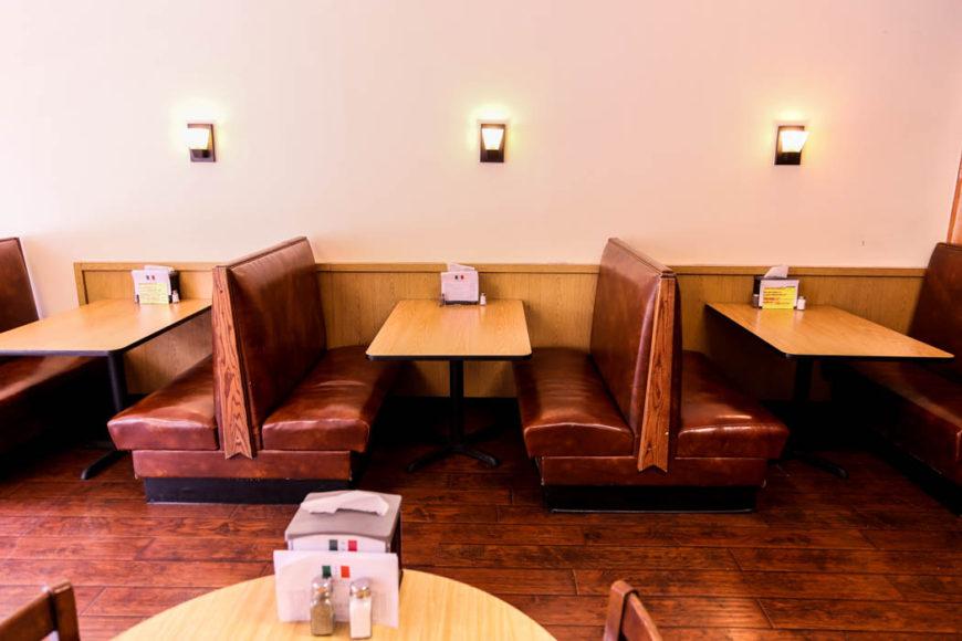 En diner i Montgomery strax söder om Charleston. Foto: Erik Bergin