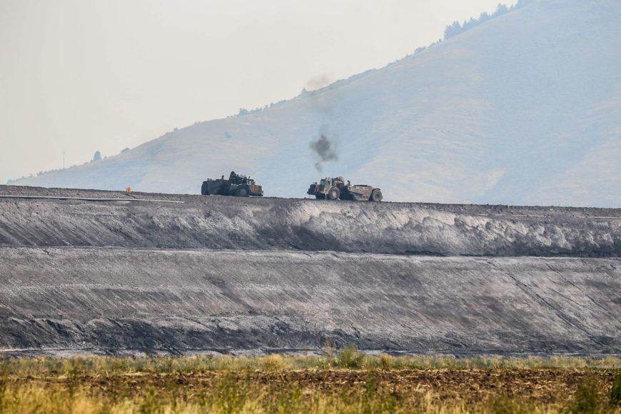 En kolgruva i Idaho i västra USA. Foto: Erik Bergin