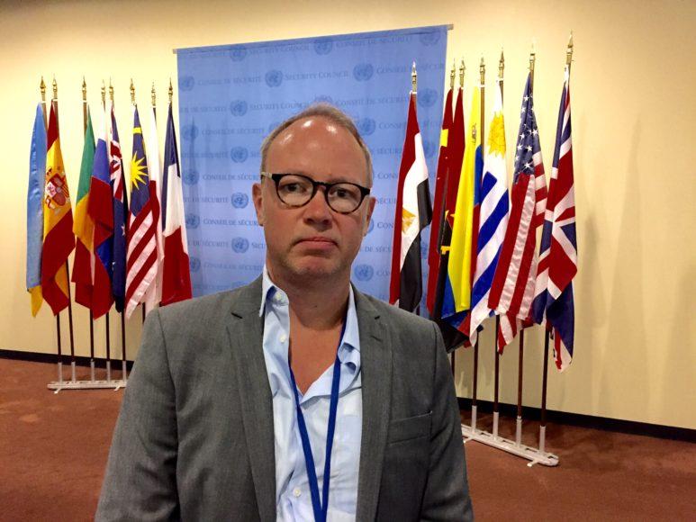 Jag bevakar sveriges inträde i FN:s säkerhetsråd i slutet av juni.