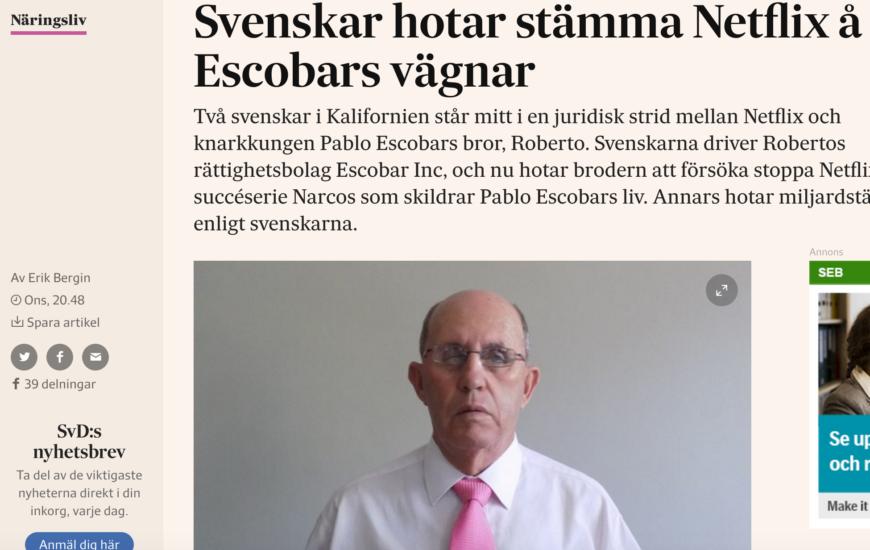 Min story om svenskarna som hotar stämma Netflix.