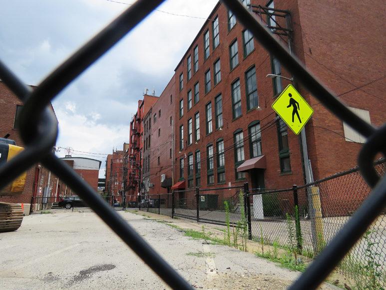 The Strip District. Här låg en gång gamla fabriker som idag omvandlas till bostäder och butiker. Foto: Erik Bergin