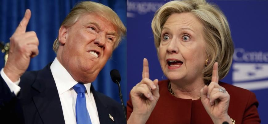 Trump & Clinton. Foto: Flickr