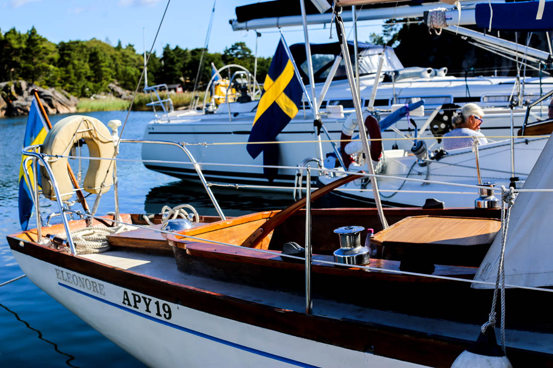 Båtgrannar vid Ostholmen. Foto: Erik Bergin