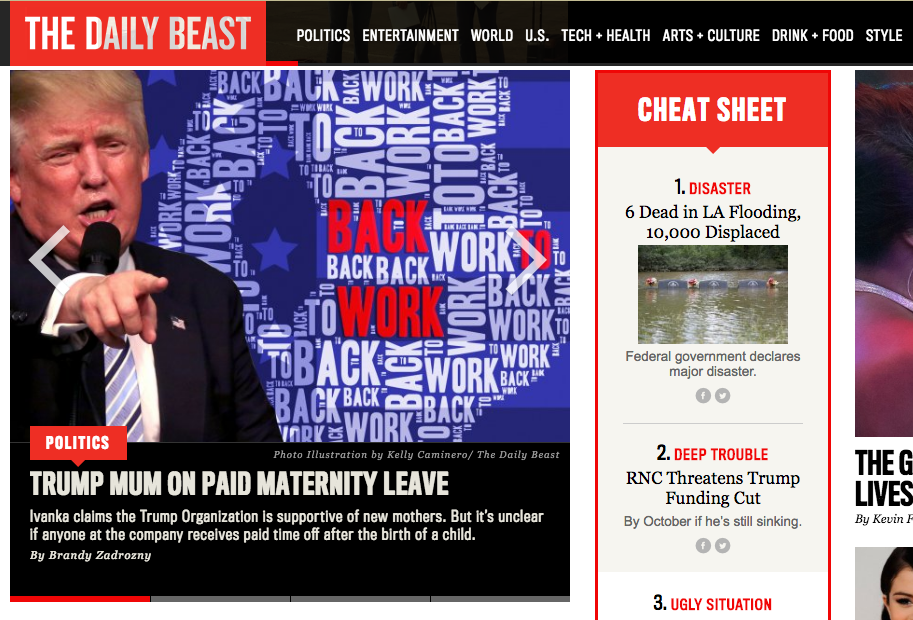 The Daily Beast.