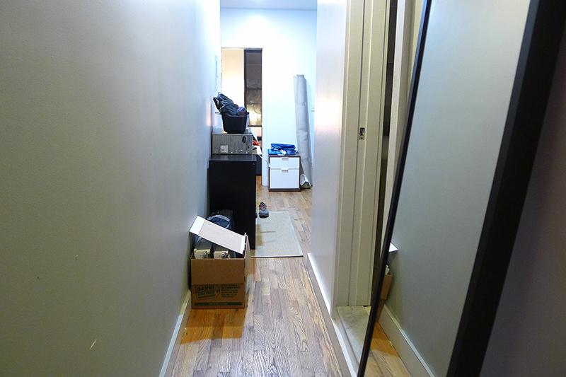 En hyfsat onödig korridor.