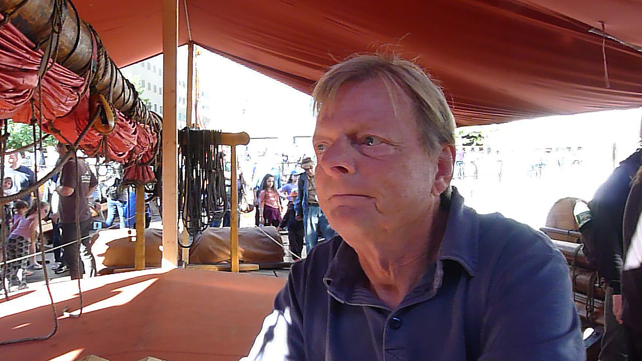 Kapten Björn Ahlander.