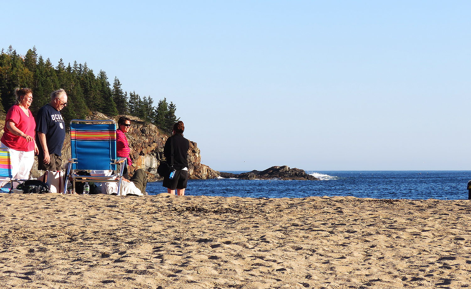 Sand Beach, Desert Mountain Island, Maine. Foto: Erik Bergin