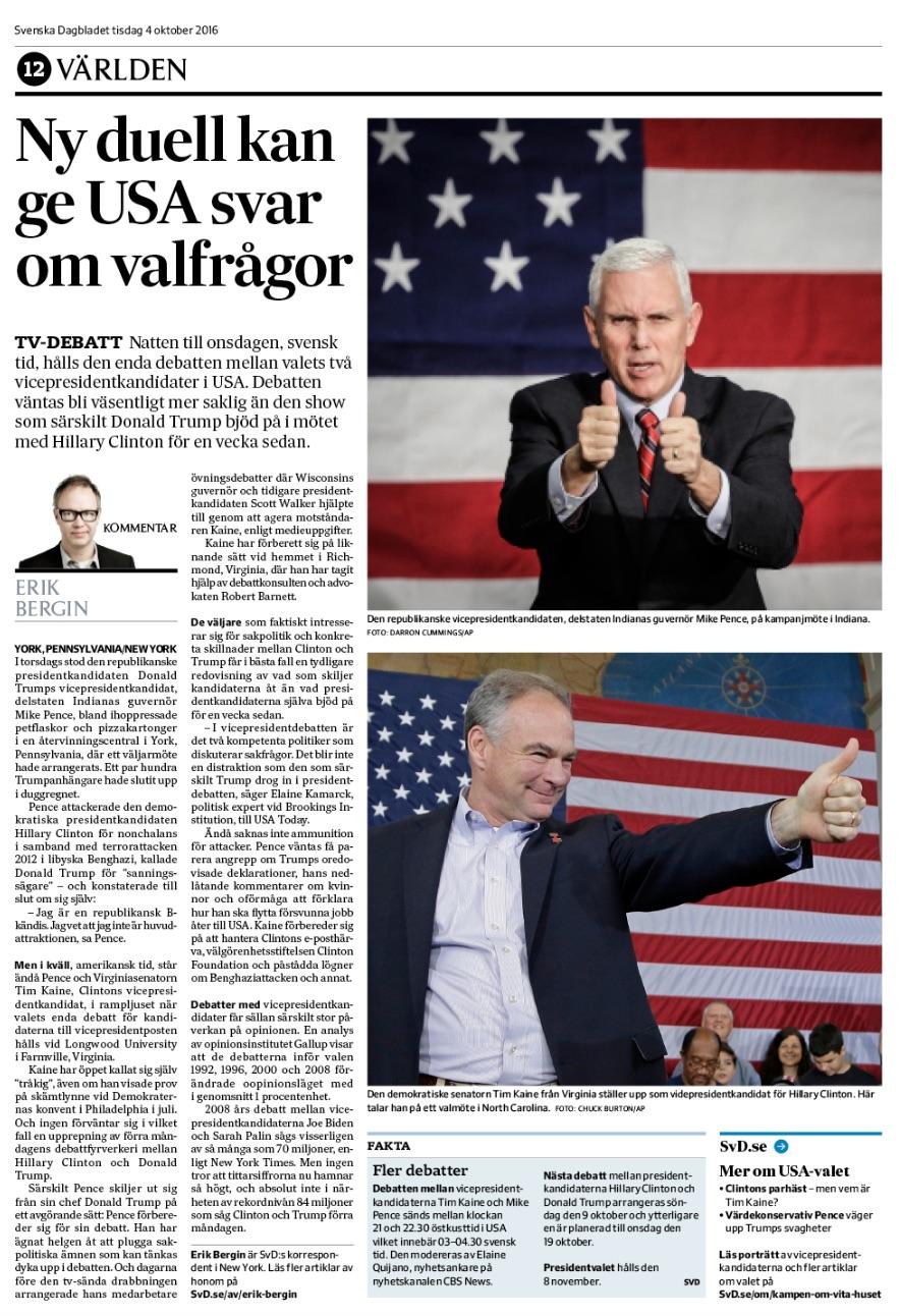 Tisdagstidningen.